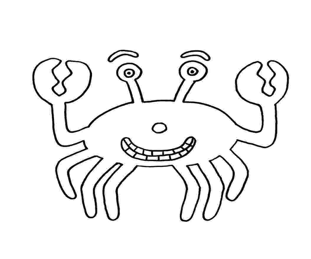 crab pictures to colour free printable crab coloring pages for kids animal place crab pictures to colour
