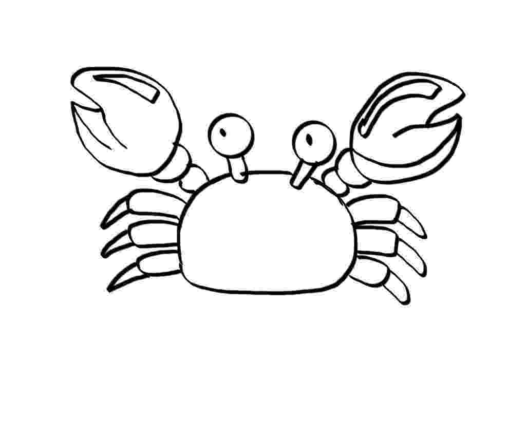 crab pictures to colour free printable crab coloring pages for kids animal place crab to pictures colour