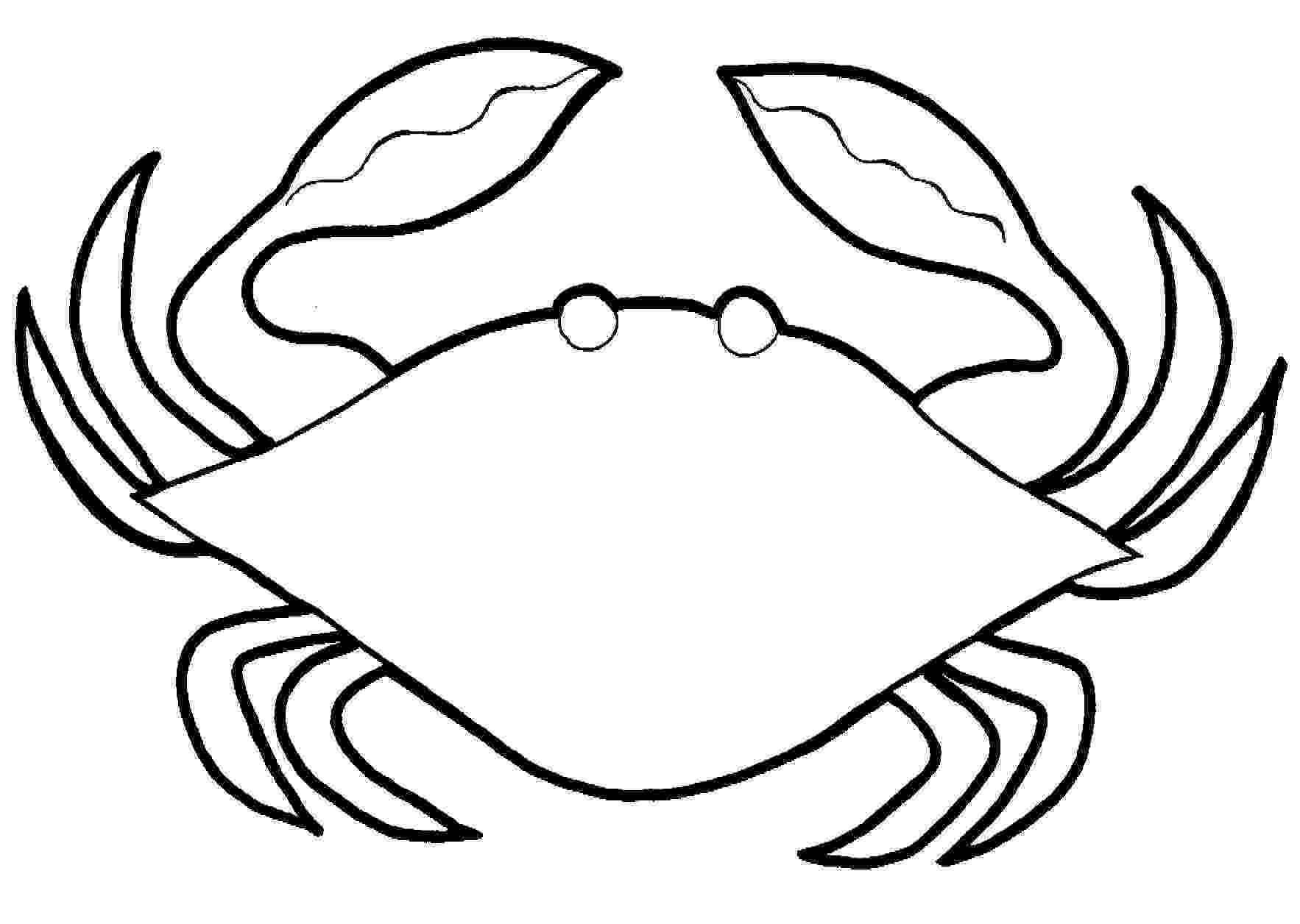crab pictures to colour free printable crab coloring pages for kids animal place to colour crab pictures