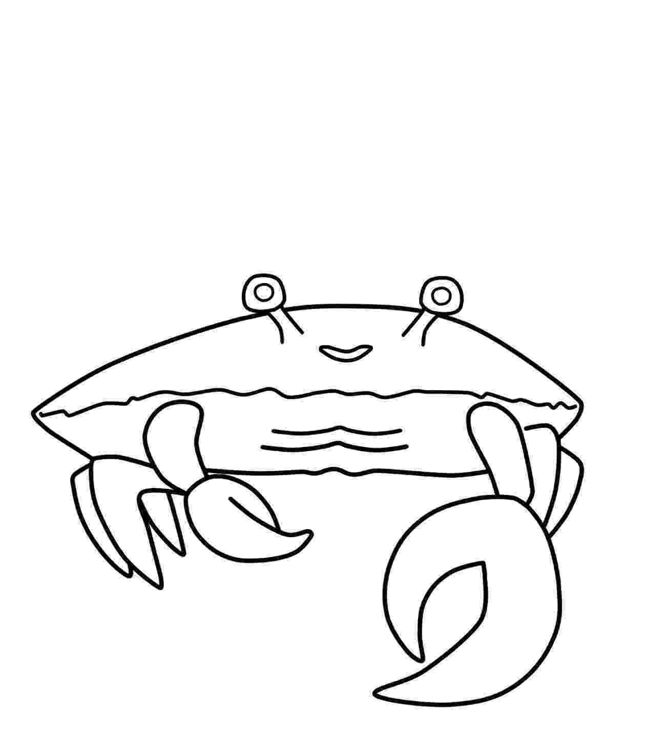 crab pictures to colour free printable crab coloring pages for kids animal place to crab pictures colour