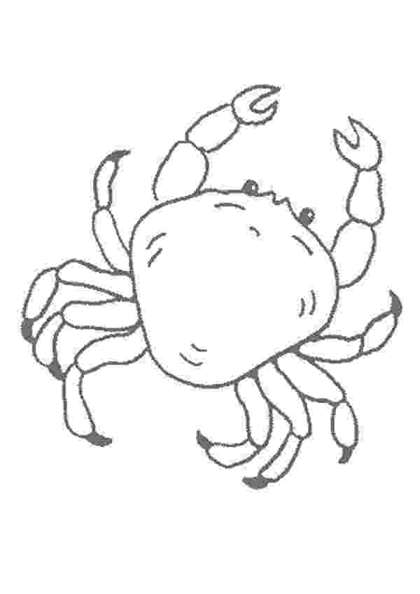 crab pictures to colour free printable crab coloring pages for kids colour crab pictures to 1 1