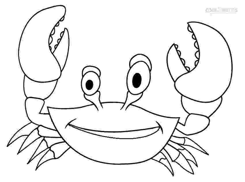 crab pictures to colour printable crab coloring pages for kids cool2bkids to crab pictures colour