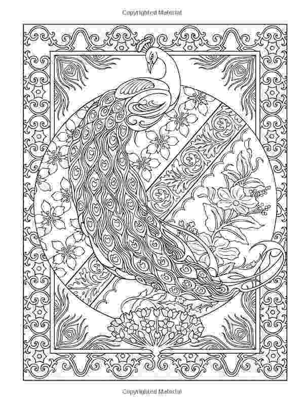 creative coloring pages creative haven peacock designs coloring book creative coloring pages creative 1 1