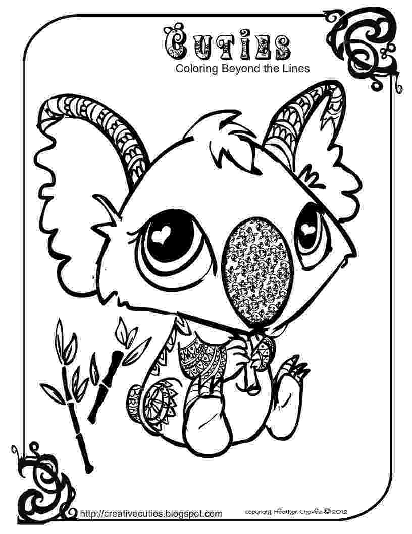 creative coloring pages heather chavez creative cuties animal design coloring pages creative