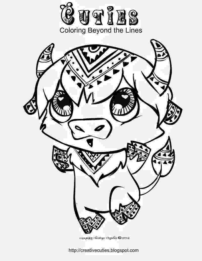 creative coloring pages heather chavez creative cuties animal design pages coloring creative