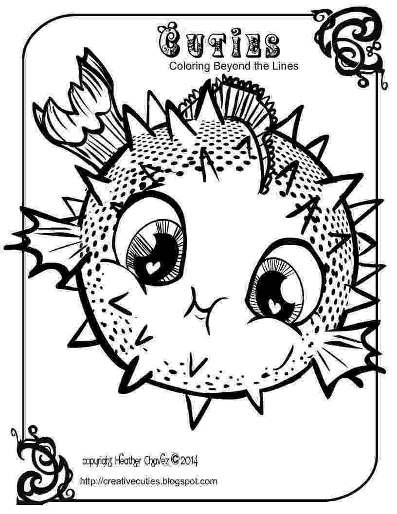 creative coloring pages heather chavez creative cuties animal design pages coloring creative 1 1