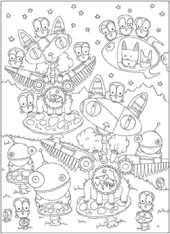 creative coloring pages sample page from dover publications creative haven coloring creative pages