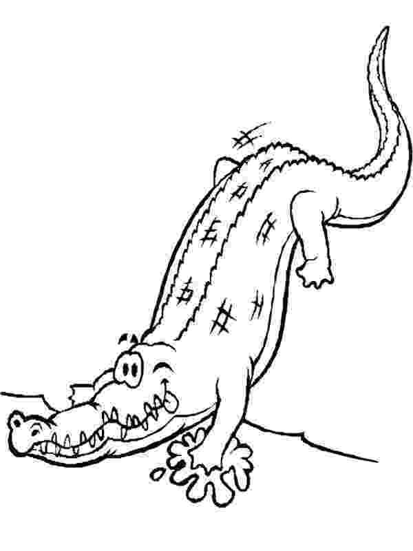 crocodile coloring free coloring pages crocodiles coloring crocodile 1 1