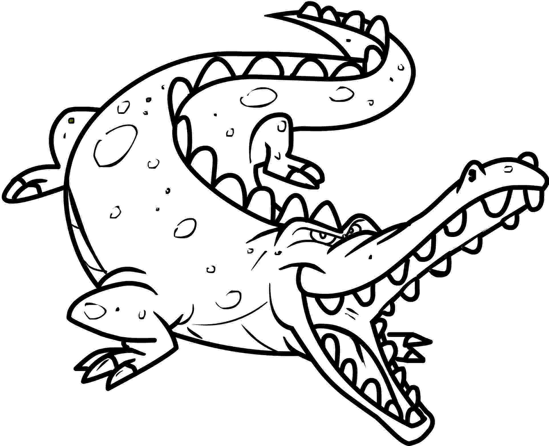 crocodile colouring free printable crocodile coloring pages for kids colouring crocodile 1 1