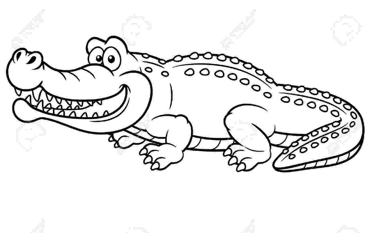 crocodile colouring free printable crocodile coloring pages for kids crocodile colouring 1 1