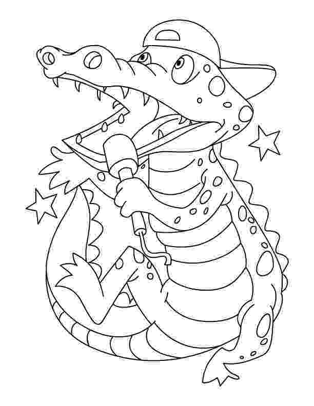 crocodile colouring free printable crocodile coloring pages for kids crocodile colouring 1 2