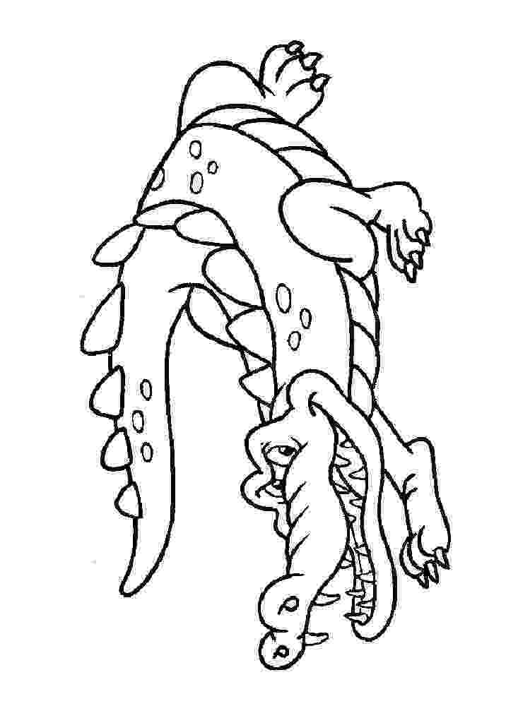 crocodile colouring page alligator coloring pages print and customize crocodile page colouring