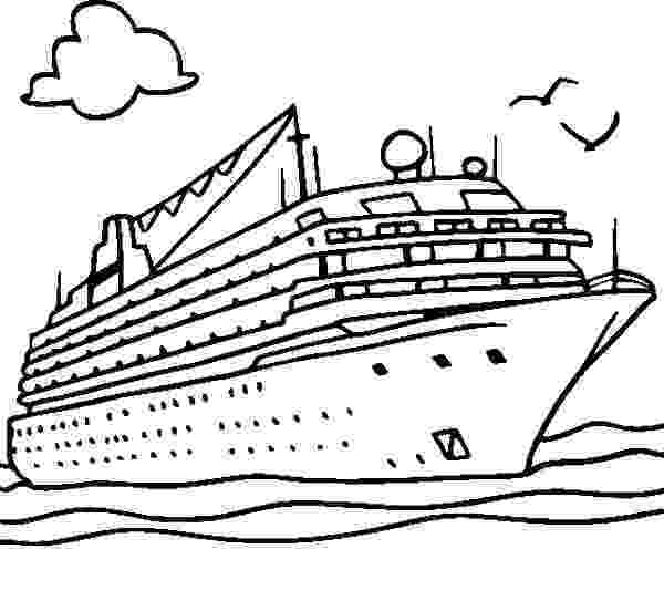 cruise coloring pages cruise ship netart coloring pages cruise