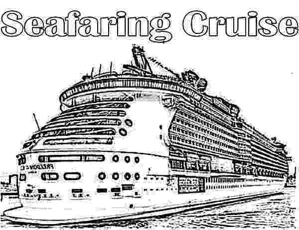 cruise coloring pages cruise ship netart cruise coloring pages 1 2