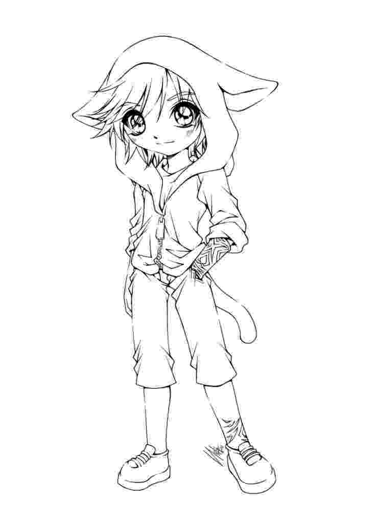 cute anime coloring pages cute anime chibi cat girls coloring page wecoloringpagecom coloring anime pages cute