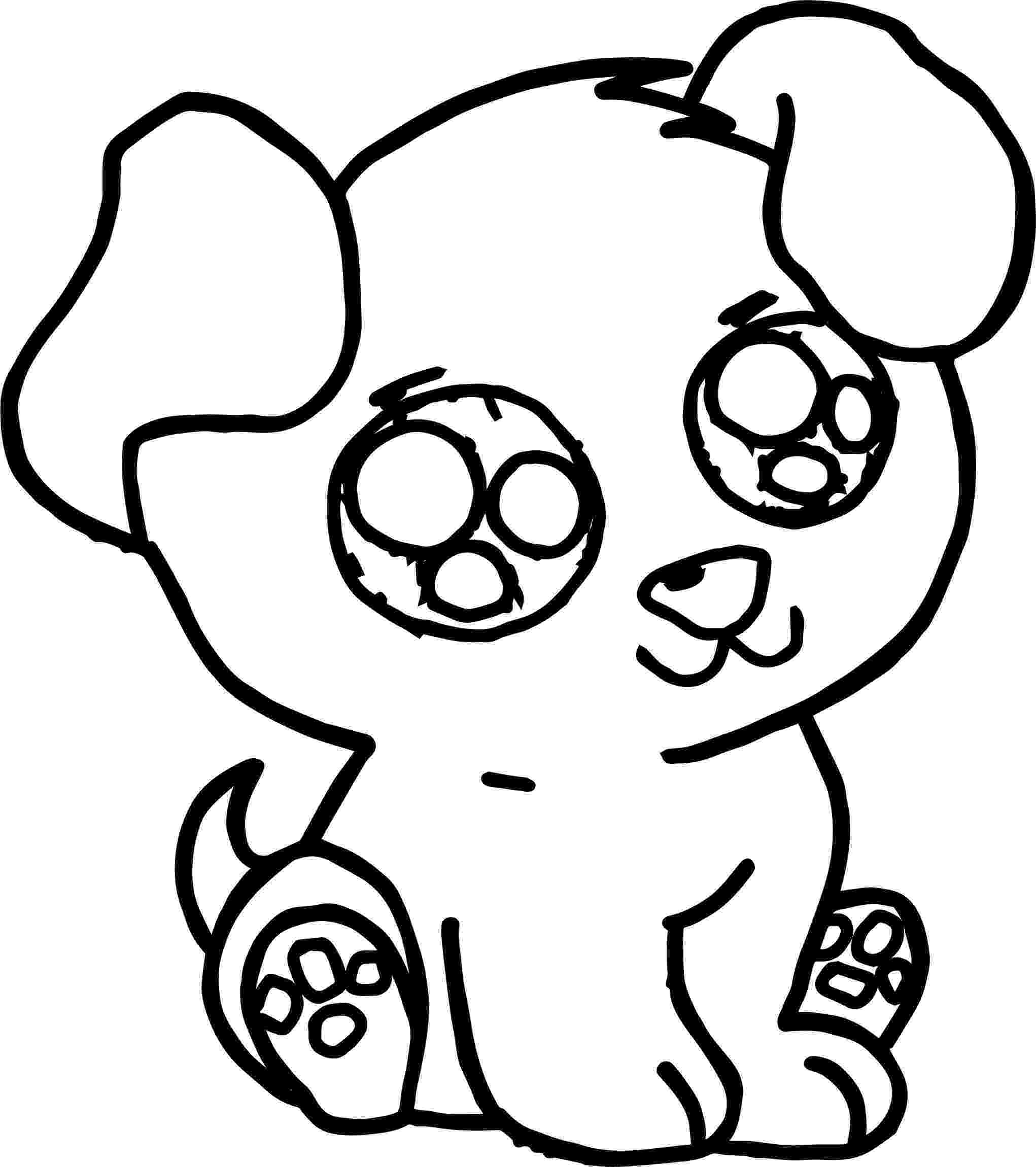 cute dogs coloring pages cute dog coloring pages getcoloringpagescom coloring cute dogs pages