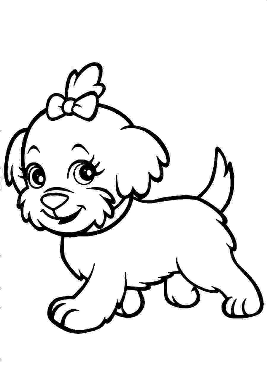 cute dogs coloring pages cute puppy coloring pages getcoloringpagescom dogs coloring cute pages
