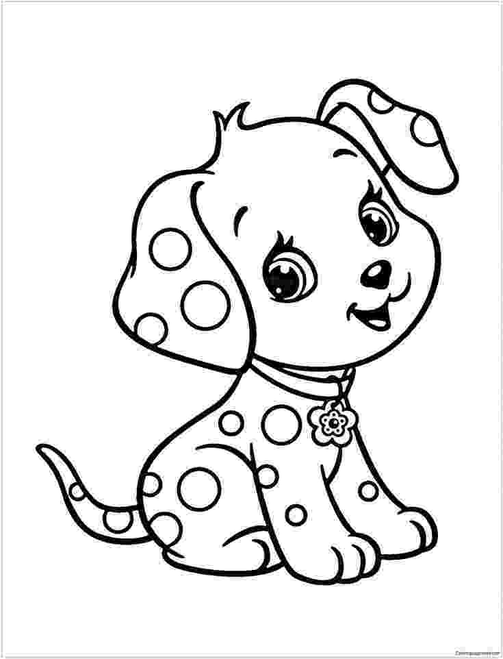 cute dogs coloring pages cute puppy coloring pages getcoloringpagescom dogs cute coloring pages