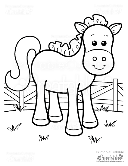 cute horse coloring pages cute horse coloring pages getcoloringpagescom coloring horse cute pages