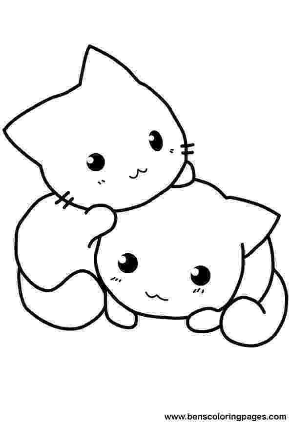 cute kitten colouring pages cat coloring page getcoloringpagescom cute colouring pages kitten