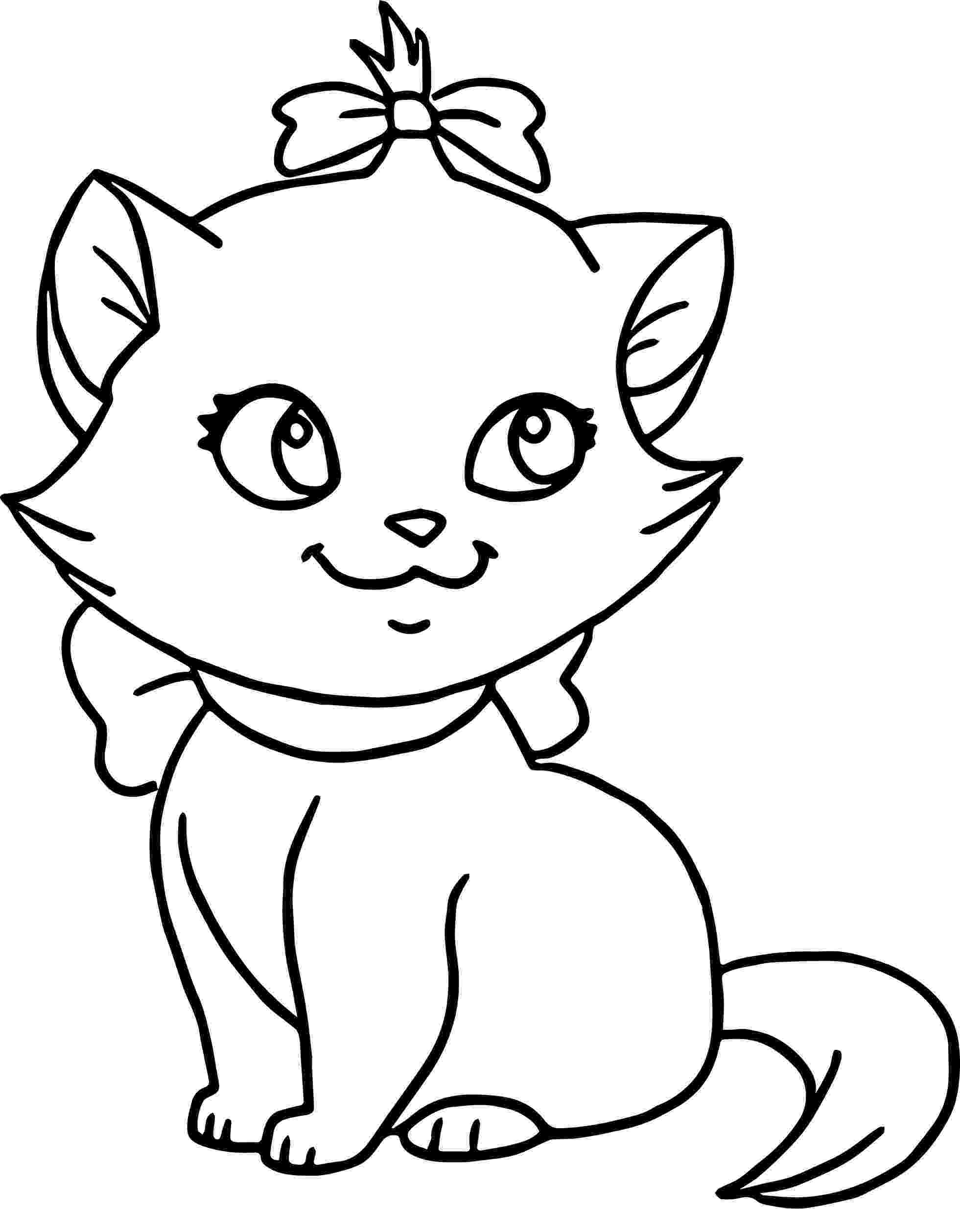 cute kitten colouring pages cute kitten coloring pages getcoloringpagescom kitten colouring cute pages