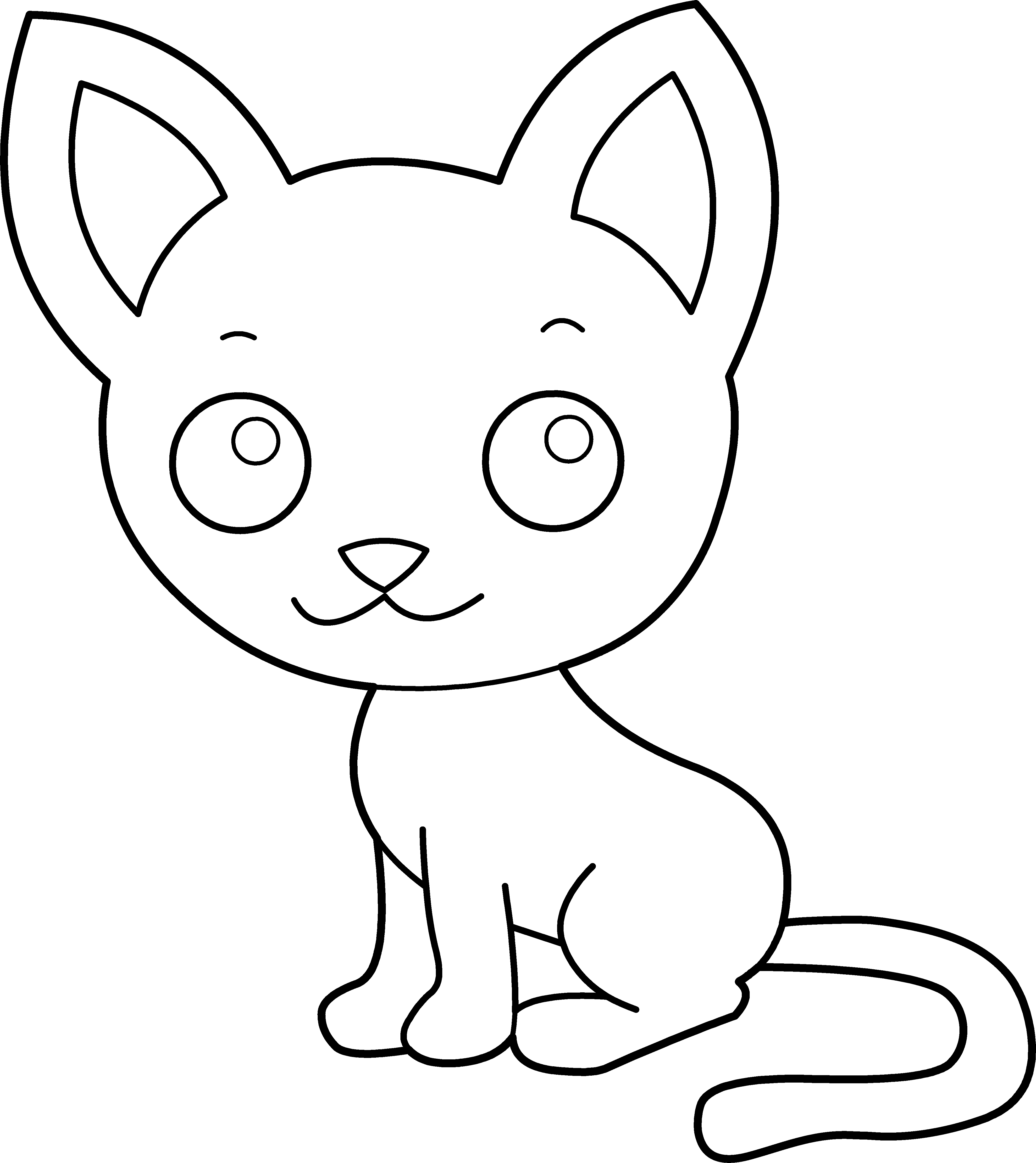 cute kitten colouring pages cute kitten coloring pages hellokidscom kitten colouring pages cute