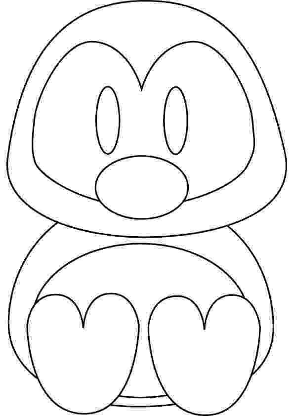 cute penguin pictures to color cute penguin coloring pages download and print for free penguin to color pictures cute