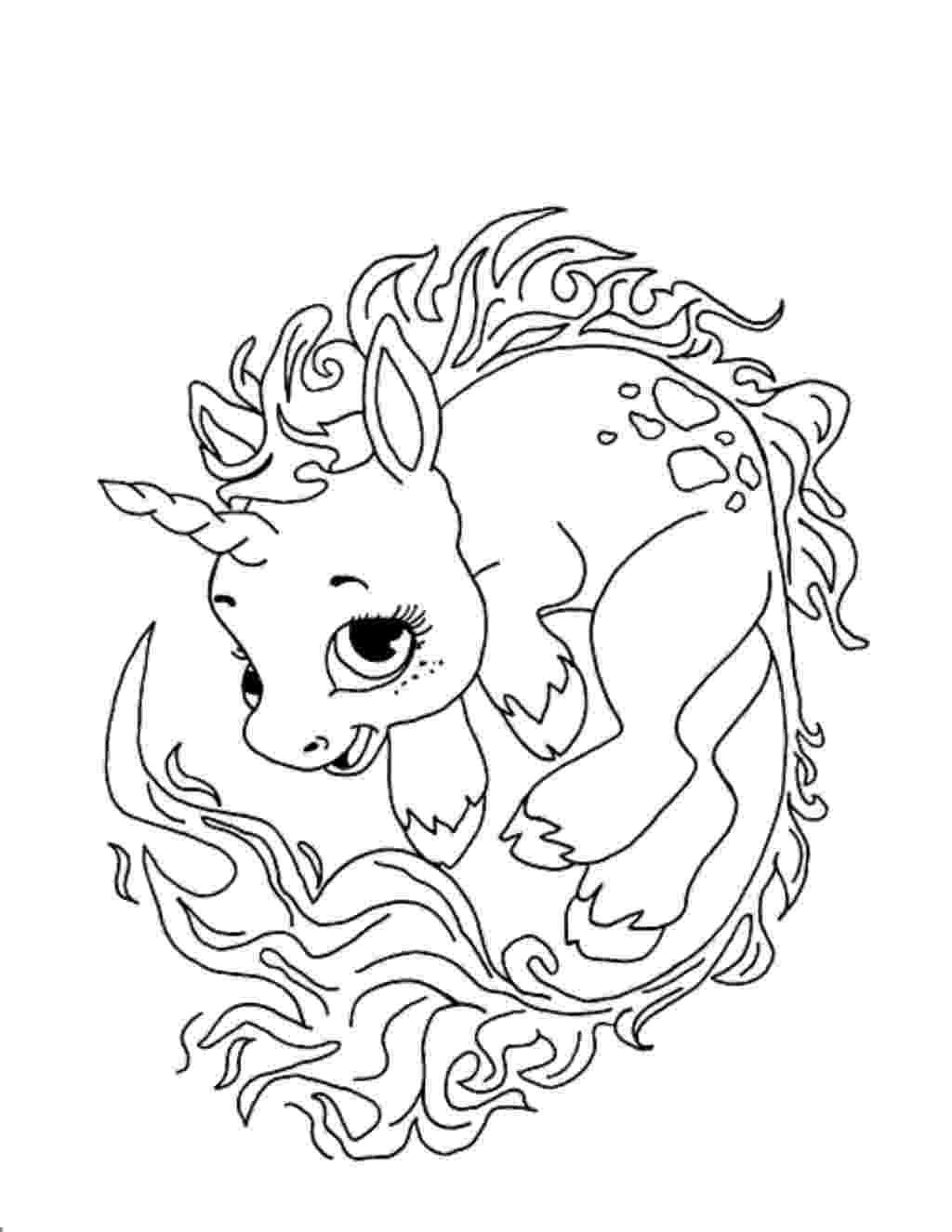 cute unicorn coloring pages cute baby unicorn coloring page free printable coloring pages cute coloring unicorn