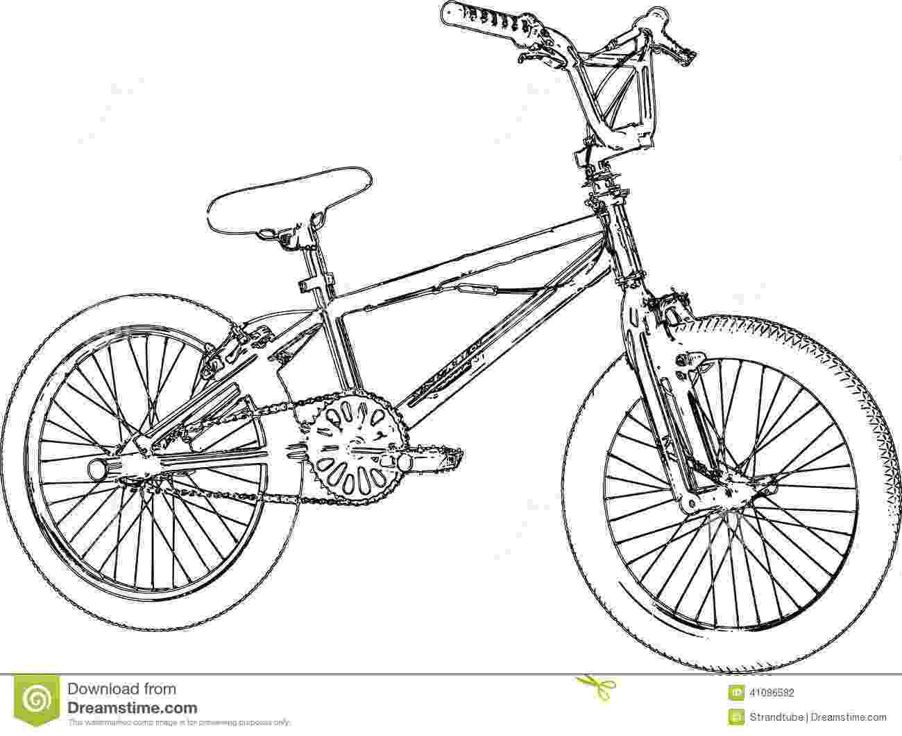 cycle sketch bmx sketch stock illustration illustration of kids cycle cycle sketch