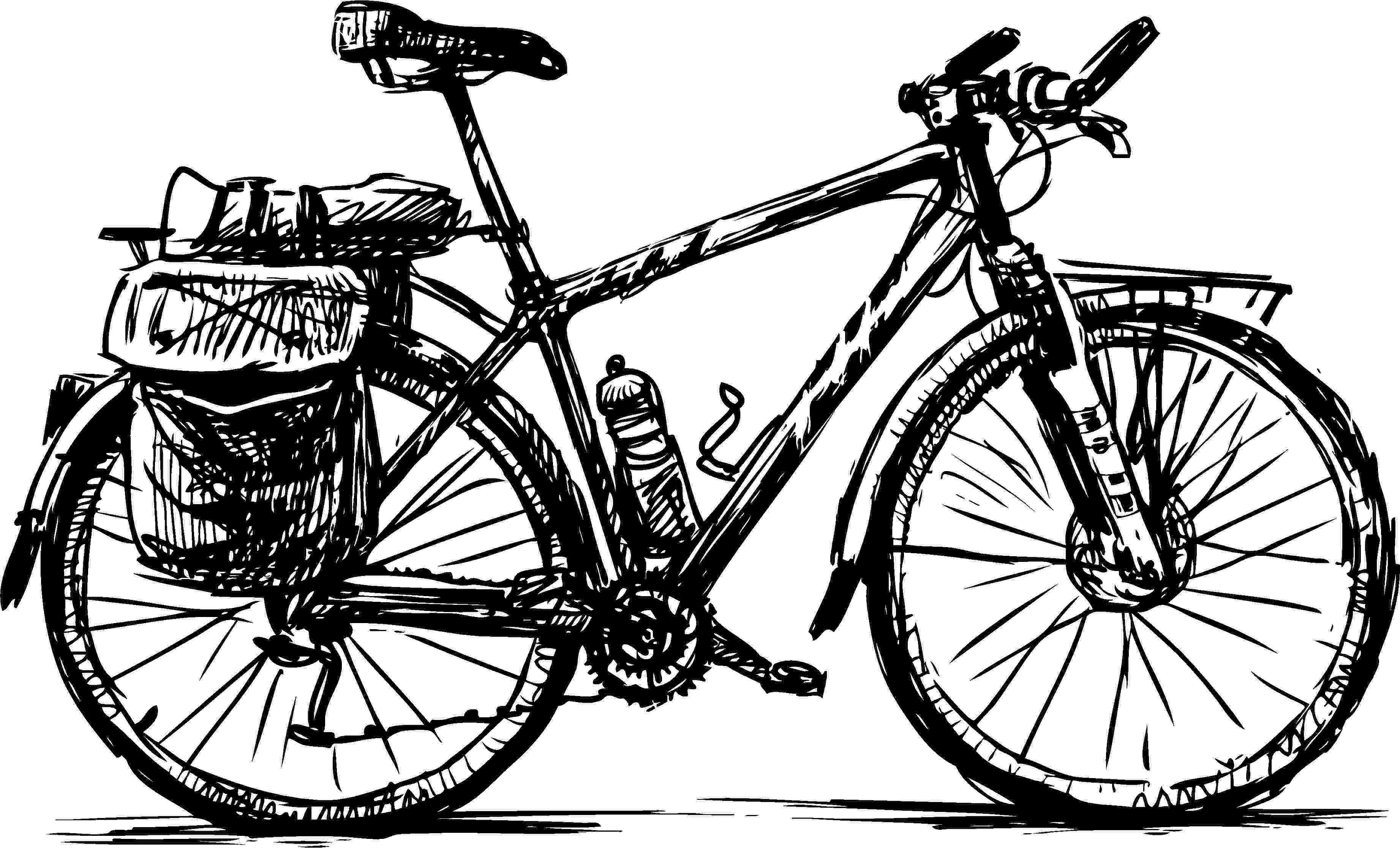 cycle sketch cycle drawing clipart best cycle sketch