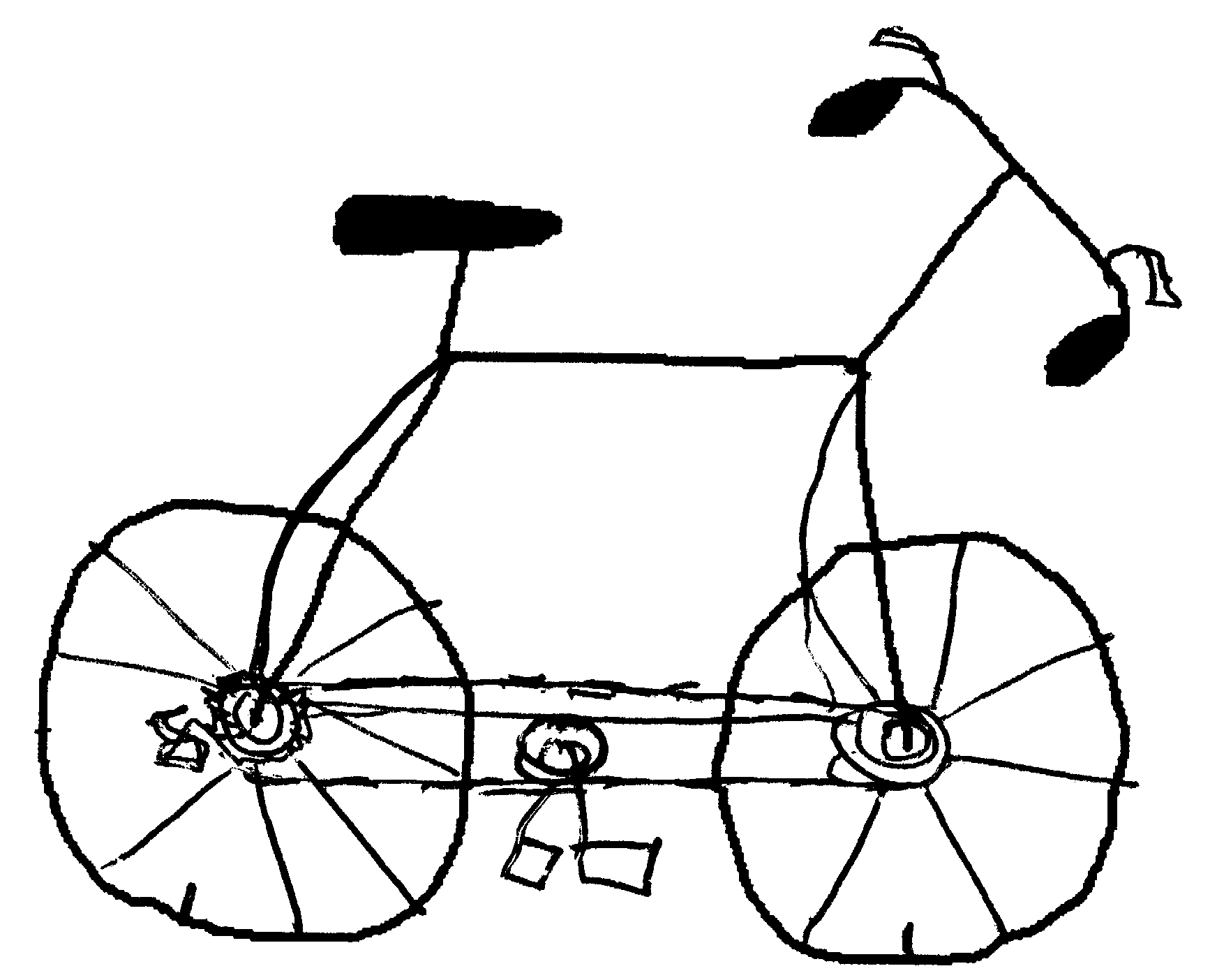 cycle sketch free how to draw a bike for kids download free clip art cycle sketch