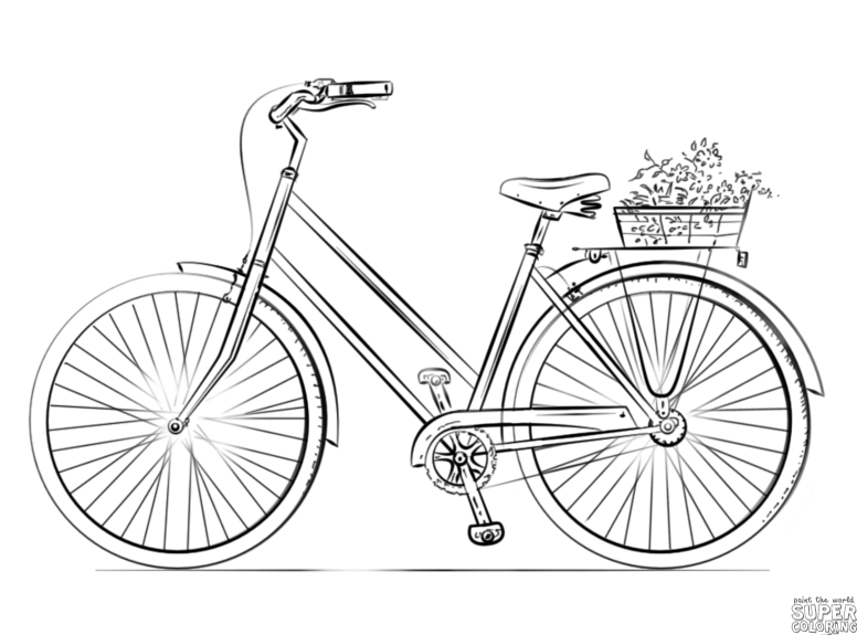 cycle sketch how to draw a bicycle step by step drawing tutorials sketch cycle