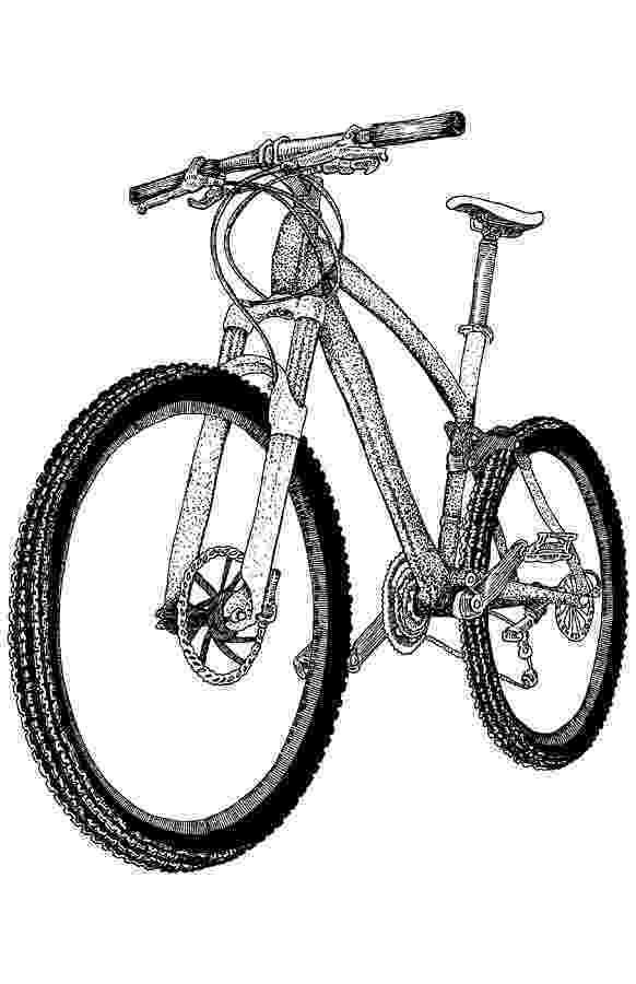 cycle sketch mountain bike drawing by karl addison sketch cycle