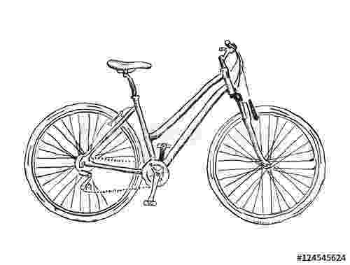 cycle sketch old bicycle sketch illustration buy this stock vector sketch cycle