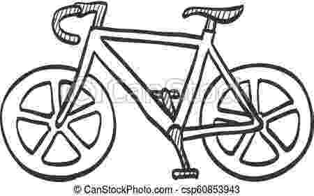cycle sketch sketch icon road bicycle road bicycle icon in doodle cycle sketch