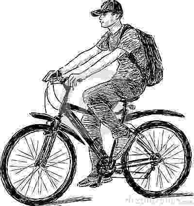 cycle sketch teen riding a bicycle stock images image 32402404 sketch cycle