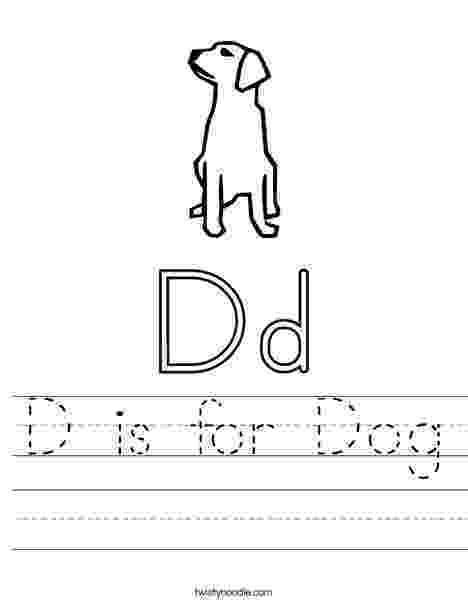 d is for dog d is for dog coloring page color luna is dog d for