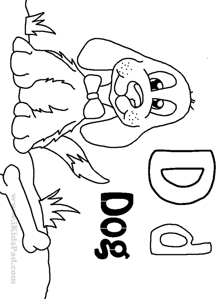 d is for dog letter d is for dog coloring page voteforverdecom is d for dog