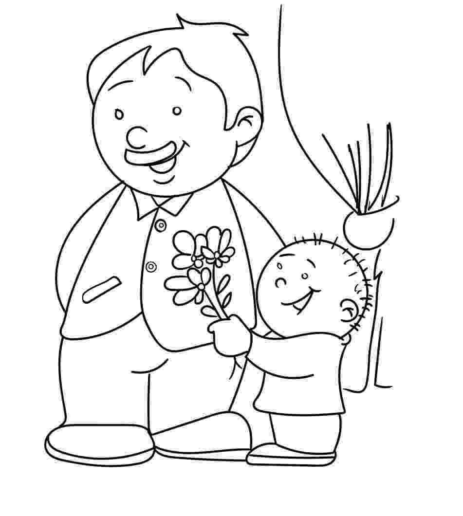 dad coloring pages dad 5 coloring pages coloring book pages dad coloring