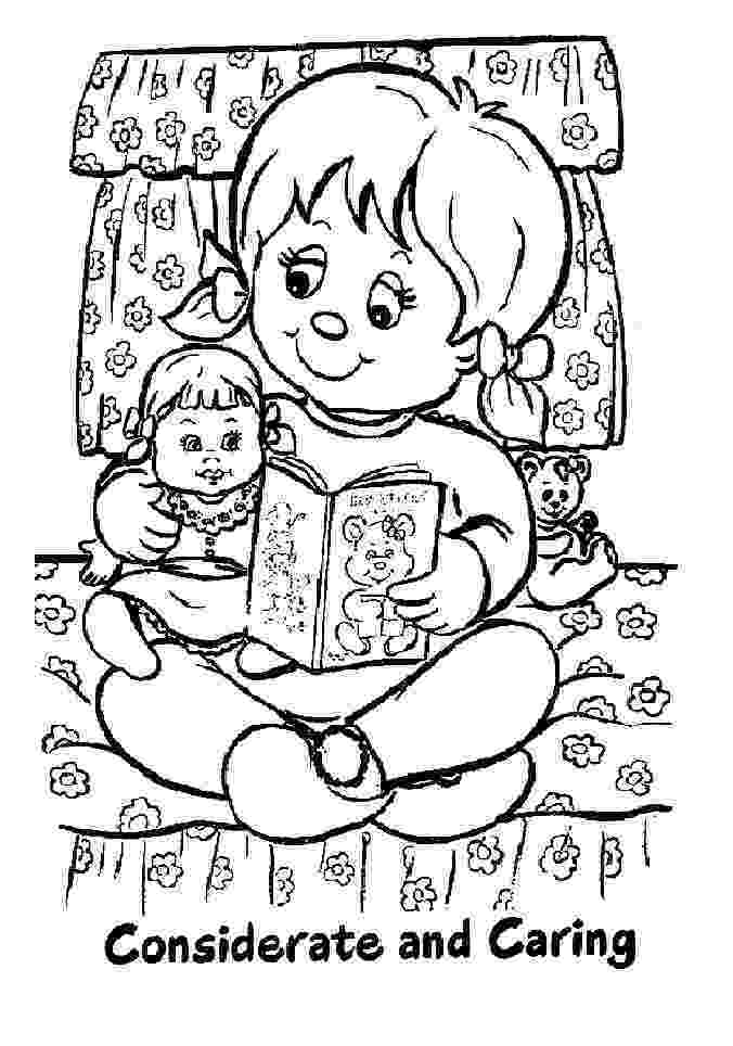 daisy girl scout coloring pages a crafty chick daisy meeting 6 friendly and helpful pages daisy scout girl coloring
