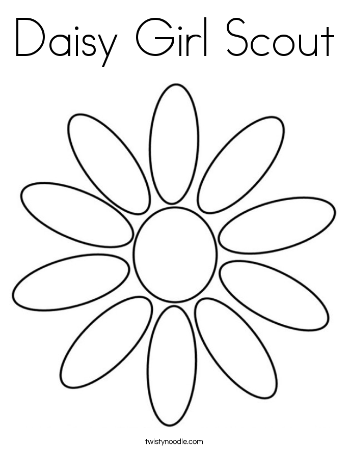 daisy girl scout coloring pages free printable girl scout coloring pages for kids cool2bkids daisy scout coloring pages girl