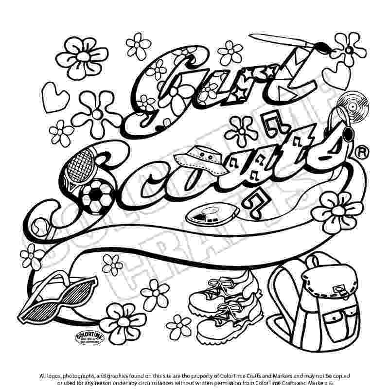 daisy girl scout coloring pages the law honest and fair coloring page makingfriends daisy scout coloring pages girl