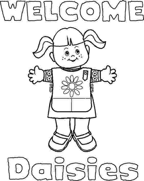 daisy girl scout coloring pages troop leader mom getting started with girl scout daisies coloring girl scout daisy pages