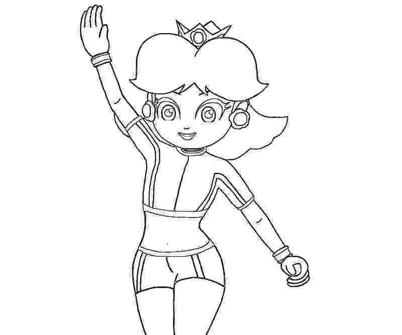 daisy mario 14 pics of mario kart daisy coloring pages daisy from daisy mario
