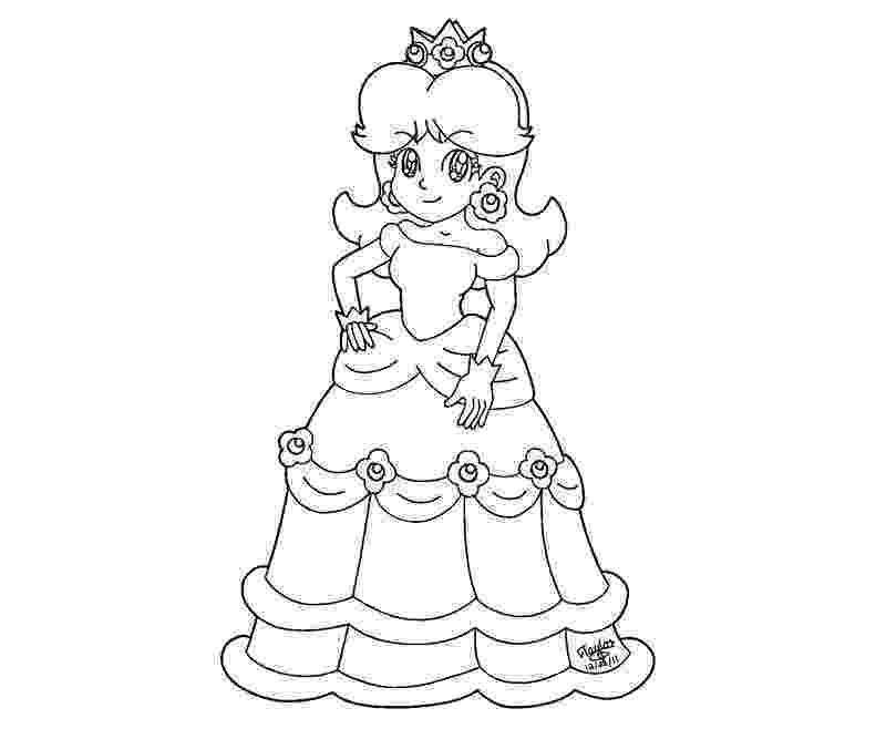 daisy mario daisy and mario coloring page wecoloringpagecom daisy mario