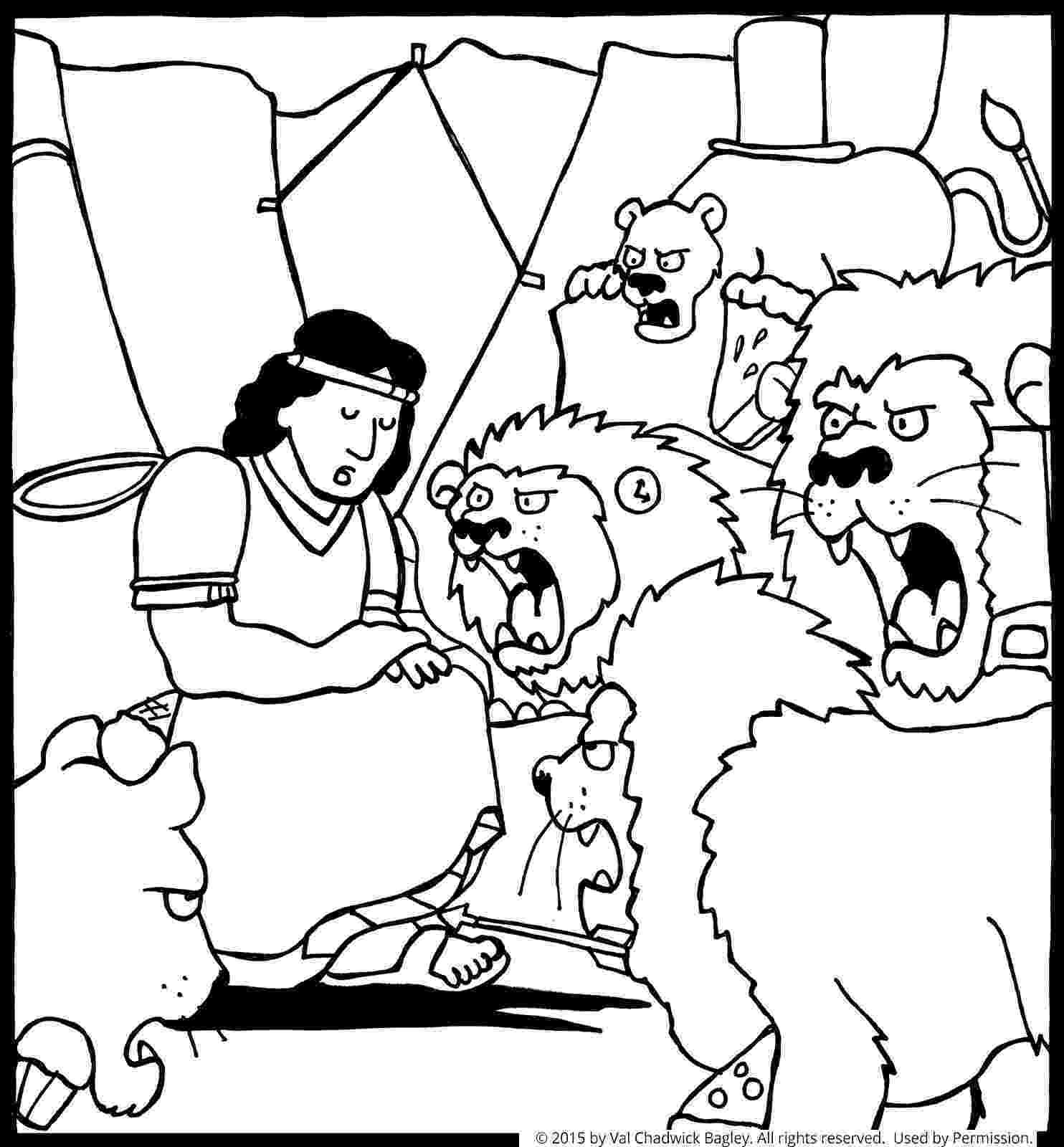 daniel and the lions den coloring page daniel and the lions den coloring pages children39s lions daniel and page the coloring den