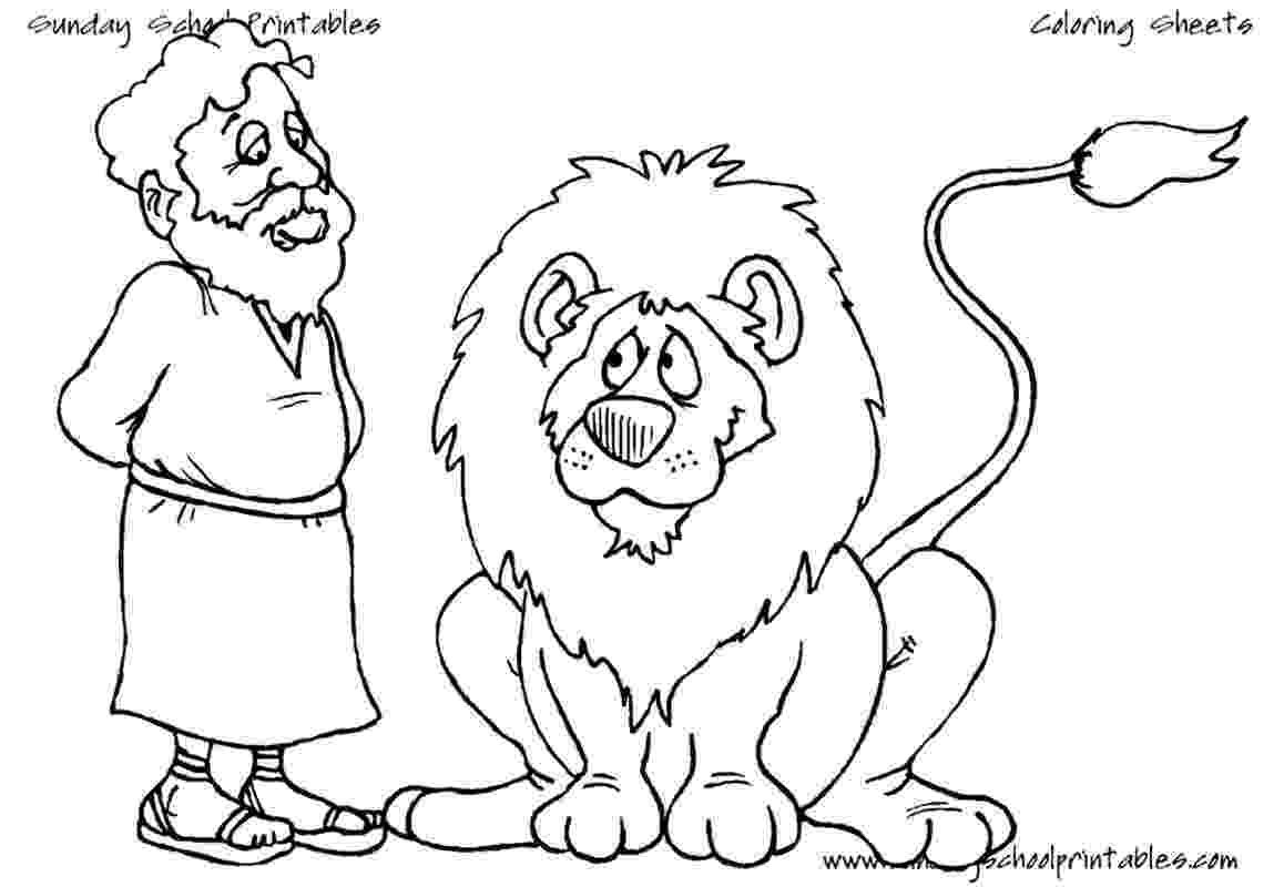 daniel and the lions den coloring page daniel the lions den 100 free kids story lesson coloring lions page the daniel den and