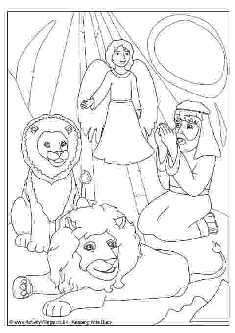 daniel and the lions den coloring page old testament crafts old testament craft ideas the daniel lions coloring page den and