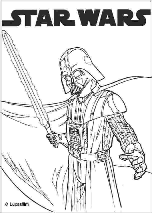 darth vader coloring sheet darth vader and laser sword coloring pages hellokidscom sheet coloring darth vader