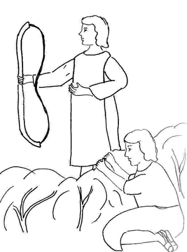 david coloring page bible story coloring page for david and jonathan free coloring page david